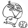 การ์ตูนฮาน่ารักฟุตบอลฮา.jpg