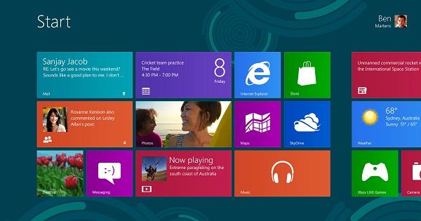 สอนวิธีการใช้งาน Windows 8